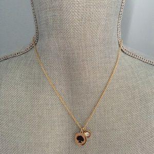 "kate spade Jewelry - Kate Spade ""Spot the Spade"" Necklace"